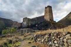 Khertvisi fästning arkivbilder