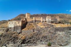 Khertvisi-Festung in Georgia an einem Sommertag Lizenzfreies Stockbild