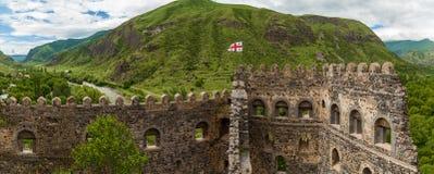 Khertvisi forteca Zdjęcia Royalty Free