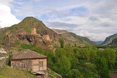 Khertvisi forteca w Gruzja Obrazy Royalty Free