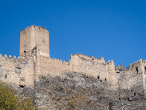 Khertvisi fortress Stock Photography