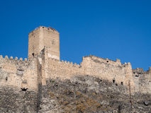 Khertvisi fortress Royalty Free Stock Photo