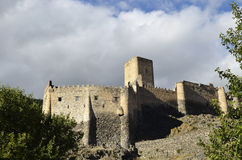 Khertvisi fortress Stock Photography