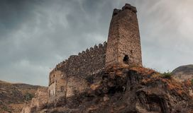 Khertvisi Fortress in the Samtskhe-Javakheti region of Georgia Stock Images