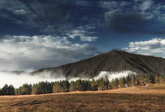 Khevsureti góry Gruzja Zdjęcia Royalty Free