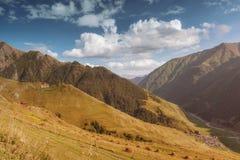 Khevsureti góry Gruzja Obrazy Stock