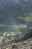 Khibiny Berge Stockfoto
