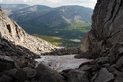 The Khibiny Mountains Stock Photo