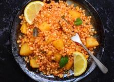 Khichdi indiano della prima colazione-sabudana Immagine Stock