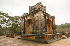 Khiem gravvalv av Tu Duc i Hue Vietnam Arkivfoto