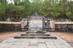 Khiem Tomb of Tu Duc in Hue Vietnam Stock Photo
