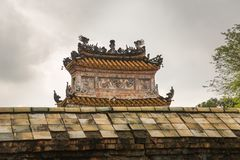 Khiem Tomb of Tu Duc in Hue Vietnam Royalty Free Stock Photos