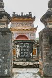 Khiem Tomb of Tu Duc in Hue Vietnam Royalty Free Stock Photo