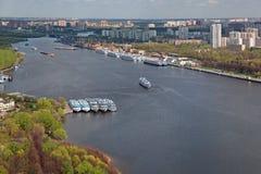 Khimki reservoir Stock Photography