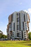 Khimki, Rusland - Mei 30 2017 woon complexe Levoberezhnaya Dubrava Stock Foto