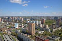 Khimki-Stadt Stockfoto