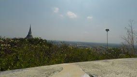 Khiri del nakon di phra del tempio di Phetchaburi archivi video