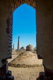 Khiva老镇,乌兹别克斯坦 库存照片