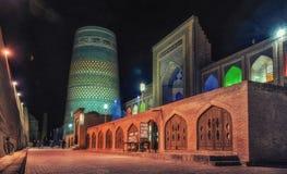 Khiva, Узбекистан стоковое изображение