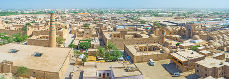 The Khiva from the air Royalty Free Stock Photos