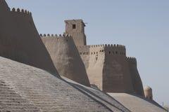 Khiva, camino de seda, Uzbekistan fotografía de archivo