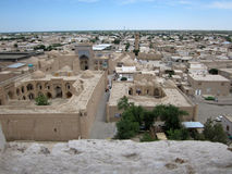 Khiva City overview Stock Photo