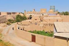 Khiva, ciudad de Uzbekistán imágenes de archivo libres de regalías