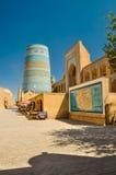 Khiva en Uzbekistán imágenes de archivo libres de regalías