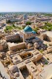 Khiva från luft Arkivfoton