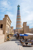Khiva old town, Uzbekistan Royalty Free Stock Photography