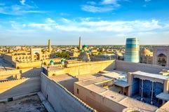 Khiva old town, Uzbekistan Royalty Free Stock Photo