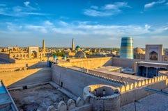 Khiva old town, Uzbekistan Royalty Free Stock Photos