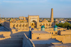 Khiva old town, Uzbekistan Royalty Free Stock Photography