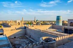 Khiva old town, Uzbekistan Stock Images