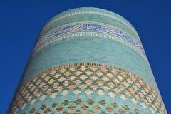 Khiva Oude Stad in Oezbekistan Stock Foto