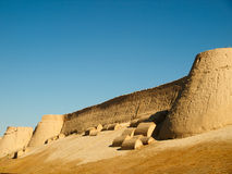Khiva at sunset Royalty Free Stock Photos