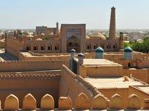 Khiva: vecchia città Fotografia Stock