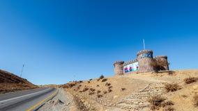 Road to Khizi city royalty free stock photo