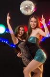 Kühle junge Damen Stockfoto
