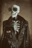 Kühle Skeleton Weinlese Stockfoto