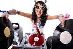 Kühles DJ Stockfoto