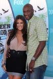 Khloe Kardashian royaltyfri foto