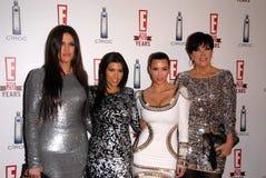 Khloe Kardashian royaltyfri fotografi