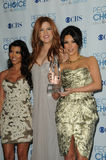 Khloe' Kardashian,Kim Kardashian,Kourtney Kardashian,Khloe  Kardashian Stock Image