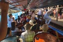 Khlong Canal Boat Bangkok Thailand Stock Photography