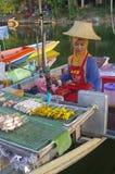 The Khlong Hae Floating Market in Songkhla Stock Photography