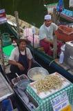 The Khlong Hae Floating Market in Songkhla Stock Photo