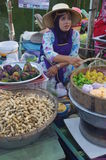 The Khlong Hae Floating Market in Songkhla Royalty Free Stock Photos
