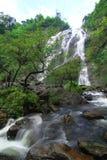Khlong lan siklawa w Thailand obraz royalty free