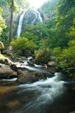 Khlong Lan-Wasserfall. Lizenzfreie Stockbilder